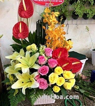 Cửa hàng hoa tươi Cần Giờ