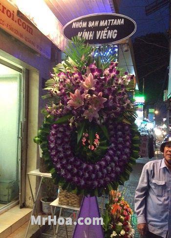 Hoa chia buồn Phú Nhuận