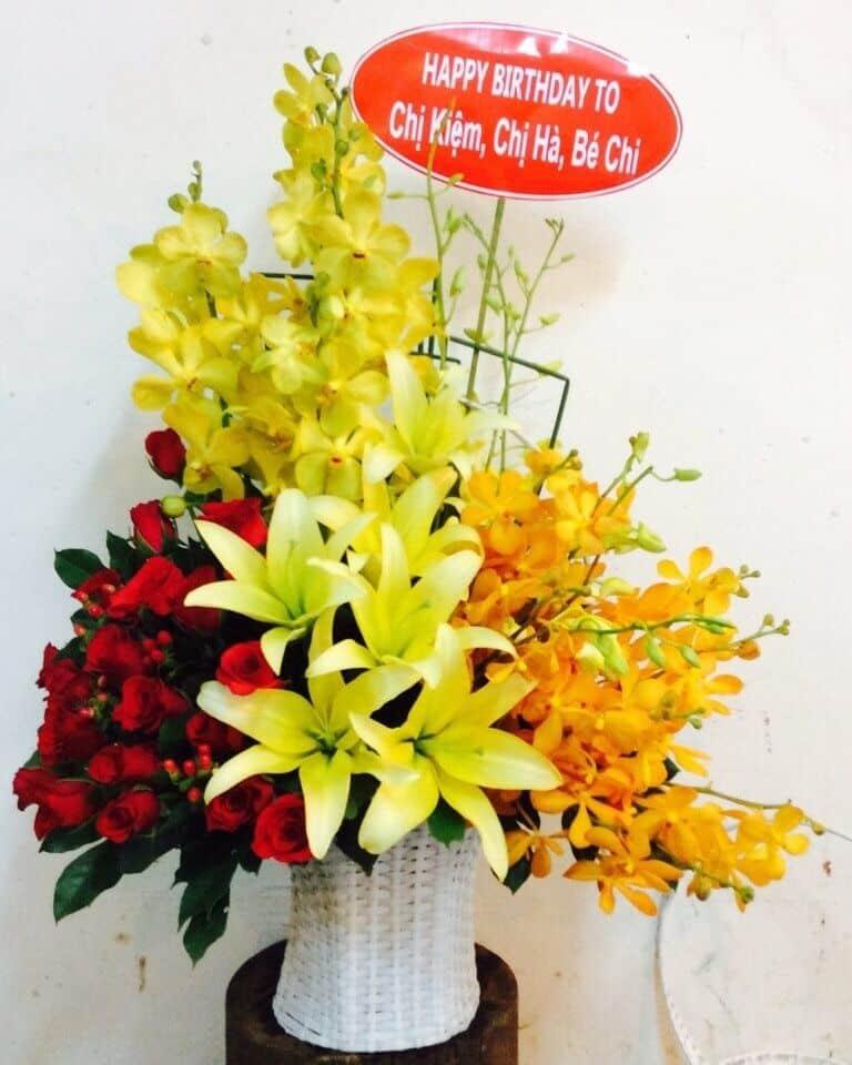 Hoa sinh nhật Bình Chánh