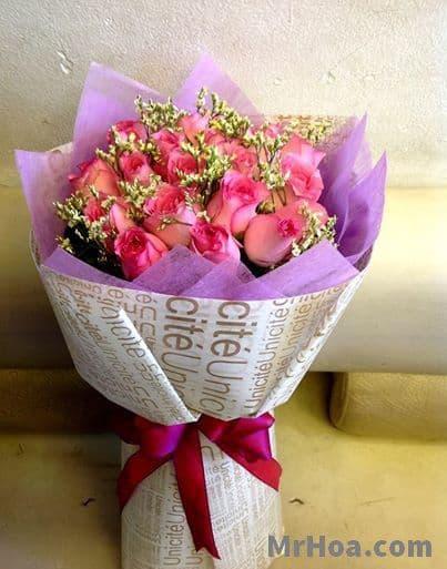Hoa sinh nhật ở Củ Chi