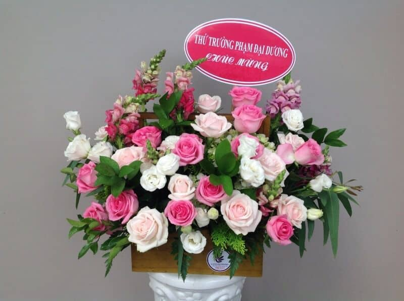 Shop hoa tươi quận 8 sinh nhật