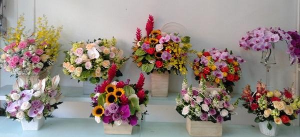 hoa tuoi binh thanh
