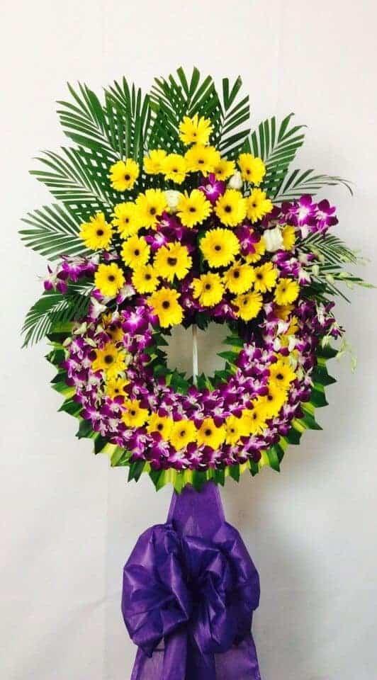 Giao hoa chia buồn đám tang sài gòn
