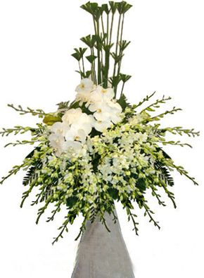 Hoa chia buồn tang lễ quận 1