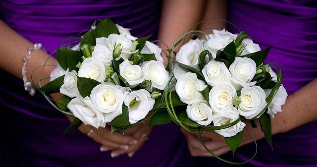Hoa hồng trắng cô dâu