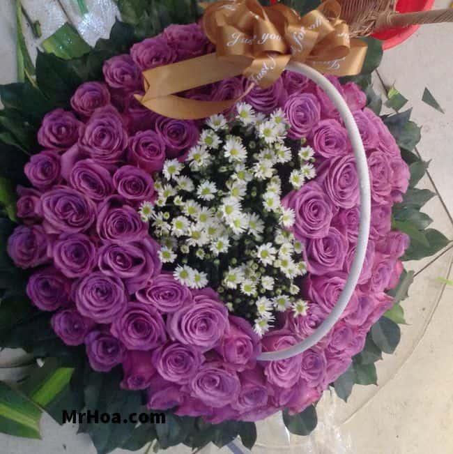 Hoa hồng tím đẹp
