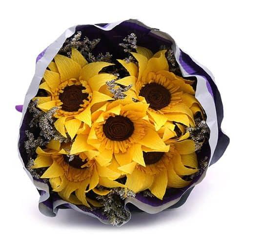 Hoa hướng dương dành tặng 20-10