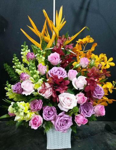 Hoa sinh nhat mau tim dep nhat