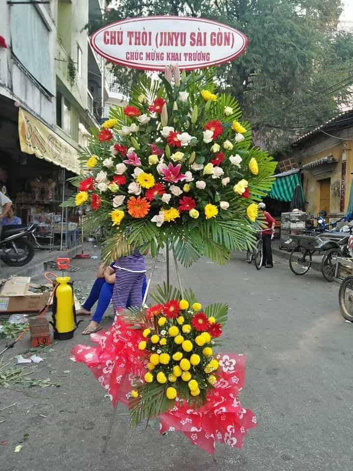 Hoa tuoi Chau Doc