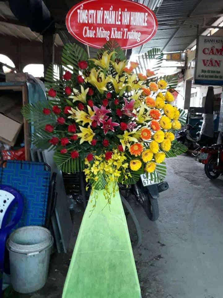 Hoa tuoi cho moi