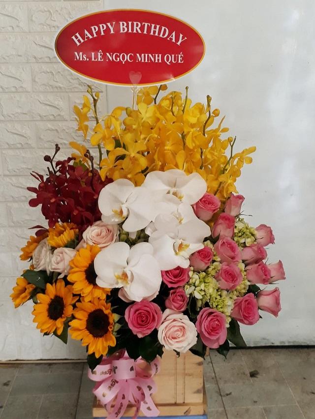 Shop hoa tươi quận 2