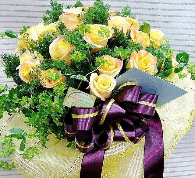 bó hoa sinh nhật đẹp độc lạ