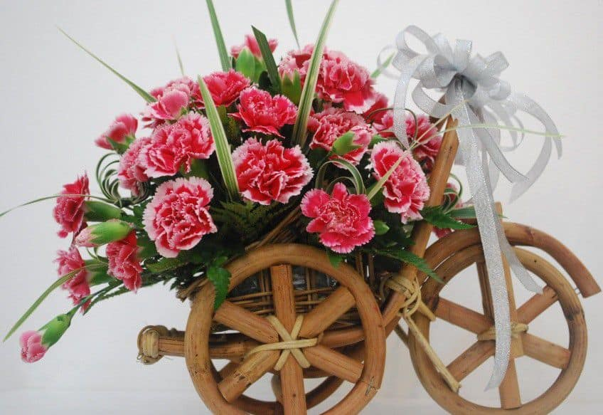 hoa sinh nhật handmade độc lạ