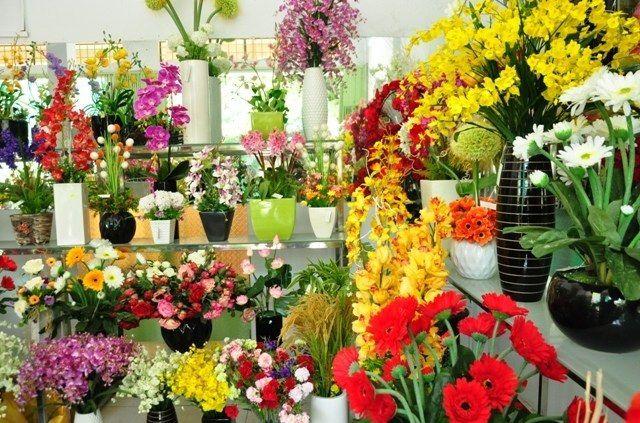Cửa hàng hoa tươi hồ thị kỷ