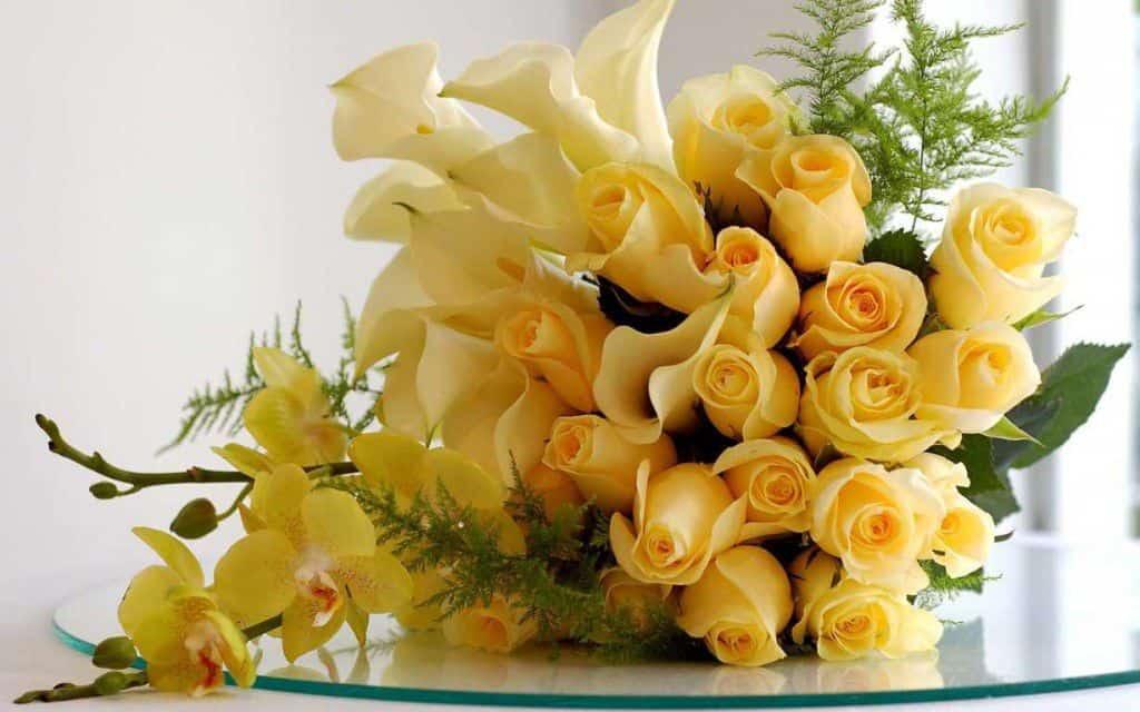 Hoa sinh nhật giỏ hoa hồng 4