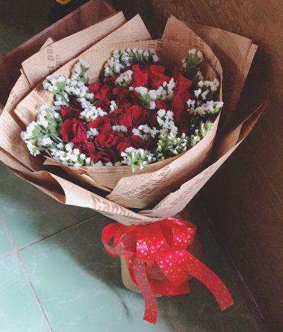 Bo hoa hong dep