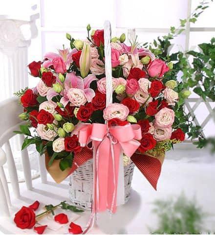 Hoa tặng sinh nhật cho nữ
