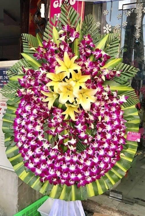 Đặt hoa tang lễ TpHCM