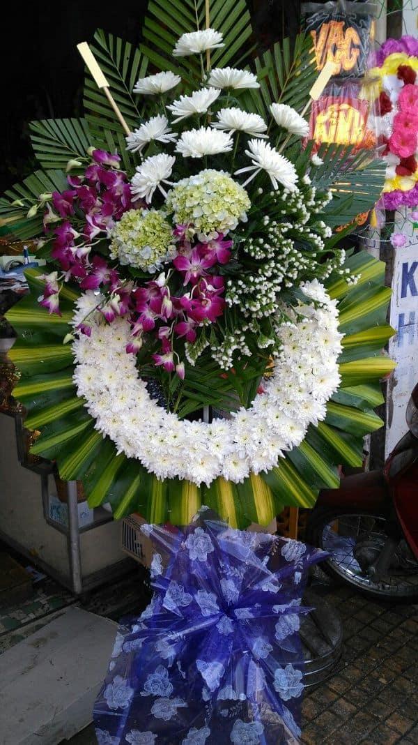 Hoa tang lễ Ba Đình