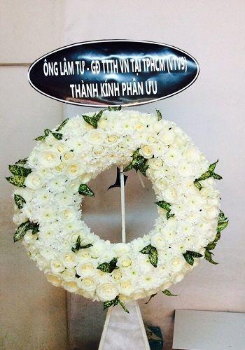 Hoa tang lễ Quận 10 giao nhanh