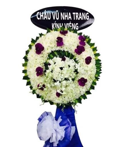 hoa chia buồn ở Gò Vấp