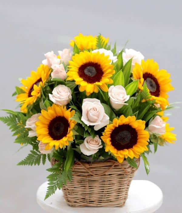 Hoa tặng sinh nhật người già 3