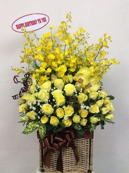tặng hoa chúc mừng sinh nhật Hà Nội