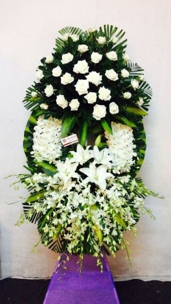 hoa chia buồn tang lễ