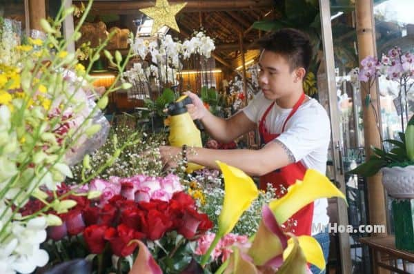 Shop hoa tươi quận Đồng Đa