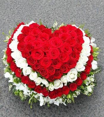 Hoa valentine đẹp