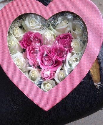 Hoa tặng người yêu ngày valentine