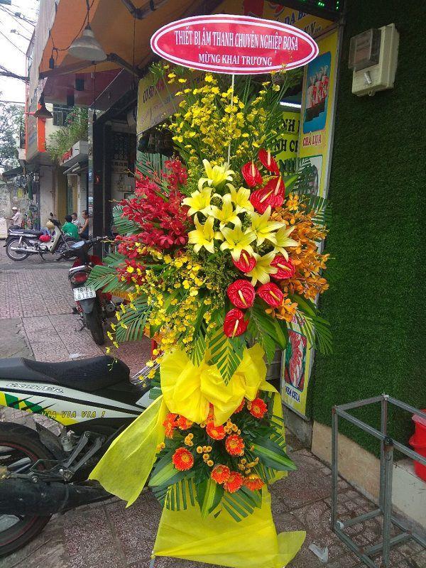 Hoa tặng khai trương sài gòn đẹp