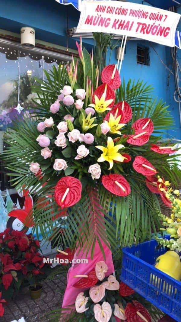 Cua hang hoa tuoi Le Thanh Ton