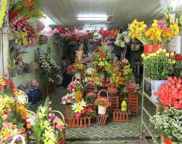 Shop hoa tươi đường Lý Tự Trọng Quận 1