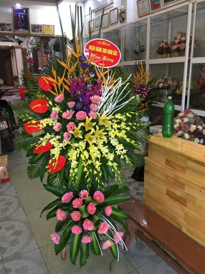 Hoa khai truong shop hoa duong vo van kiet