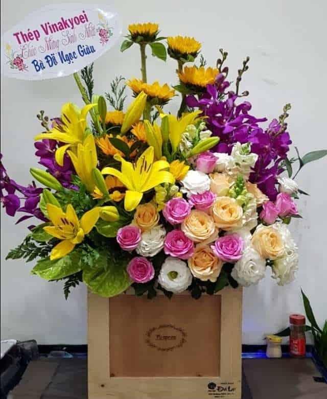Hoa chúc mừng thới lai