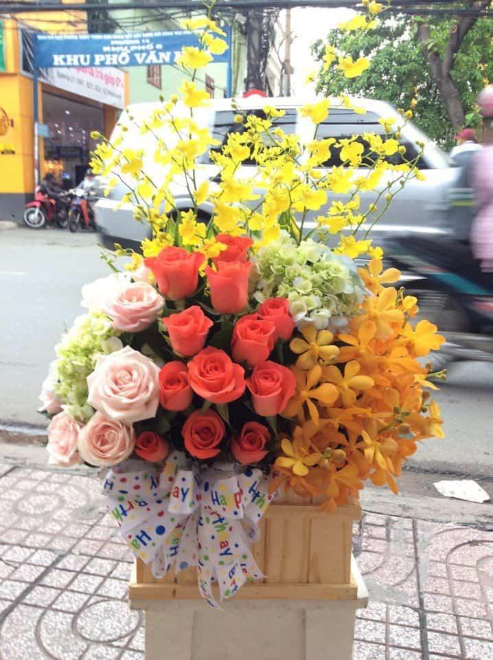 Shop hoa tuoi o Quan Binh Thuy