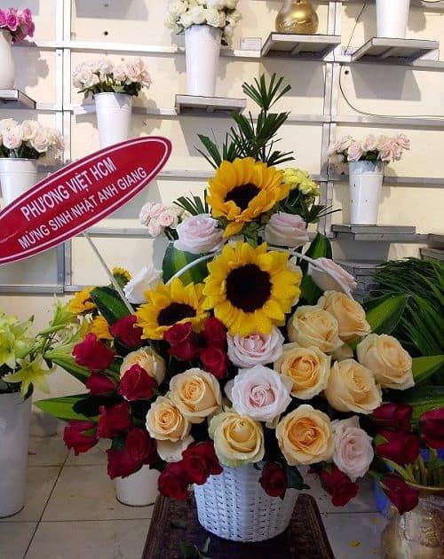 Shop hoa tươi Quận cái Răng