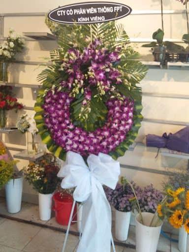 Hoa đám tang tại bình chánh