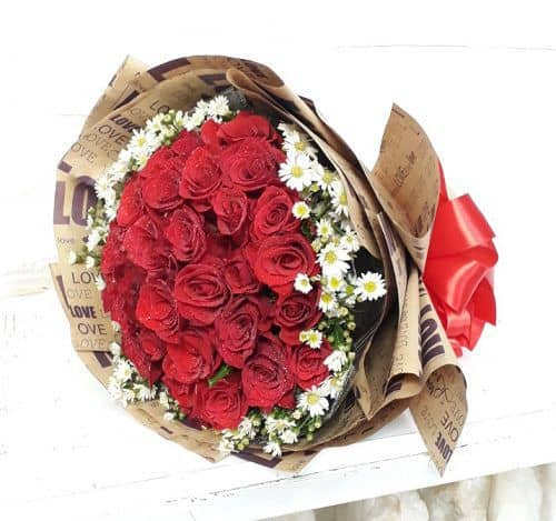 Hoa bo tang sinh nhat