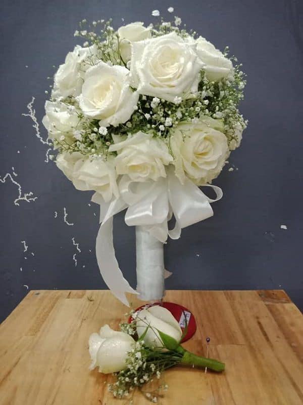cách chọn hoa cô dâu phù hợp