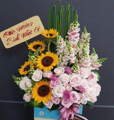 Gio hoa sinh nhat chan troi