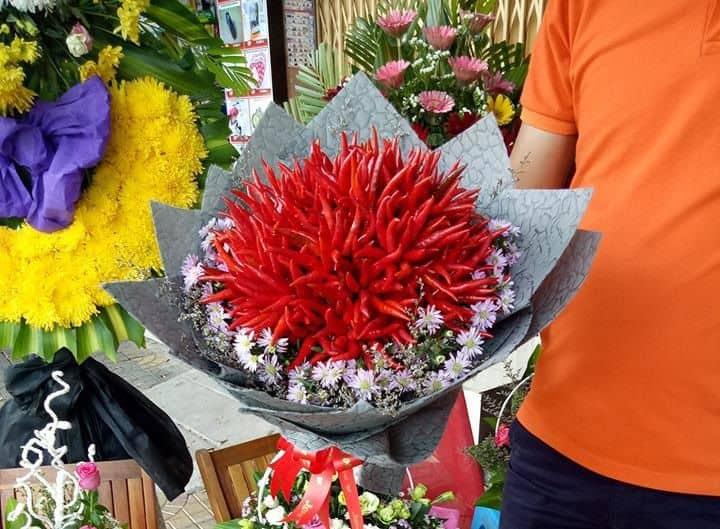 Hoa từ trái ớt