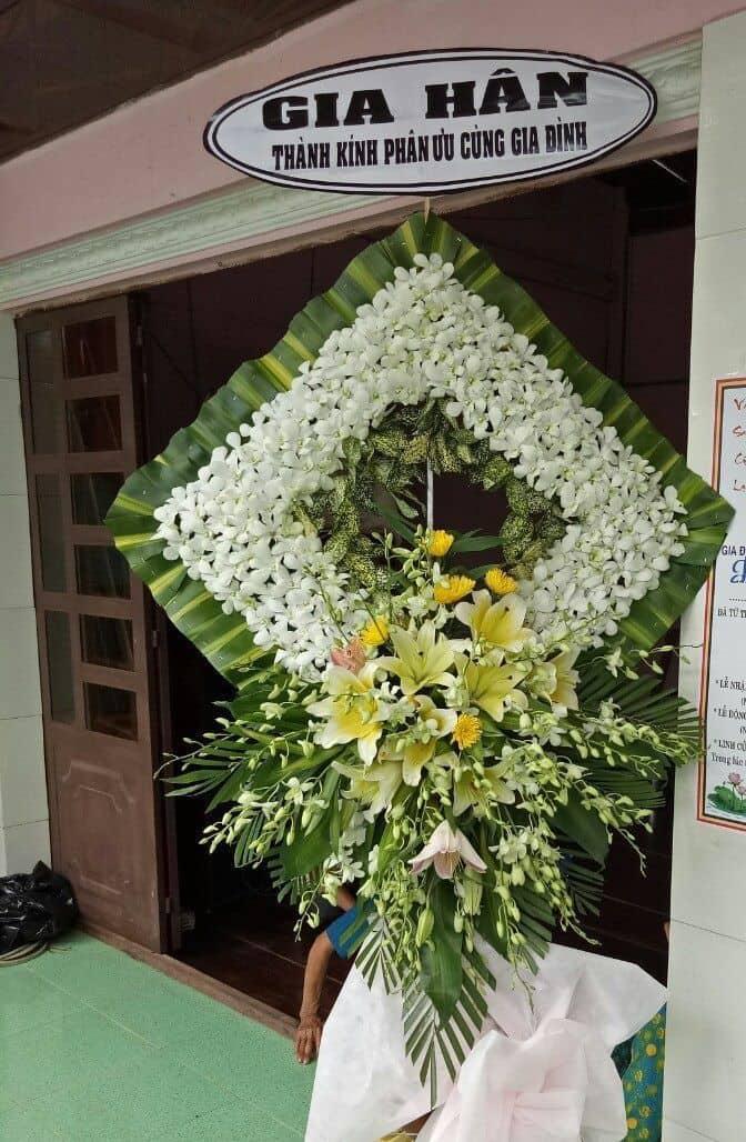 Hoa dam tang hinh vuong