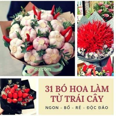 hoa trai cay dep