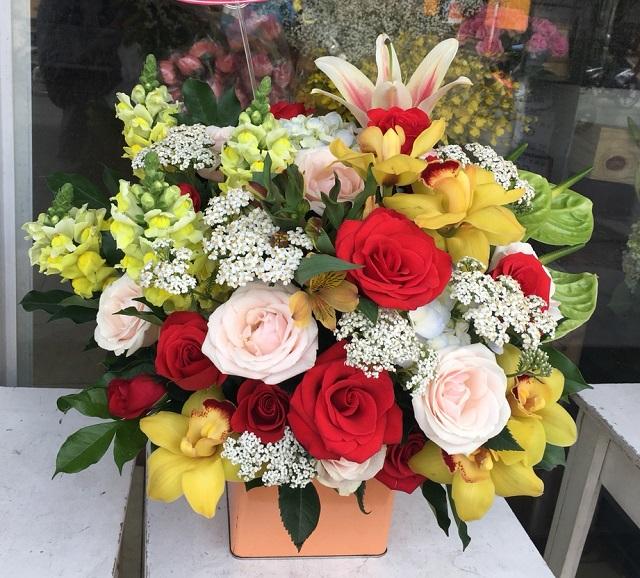Gio hoa tan gia dep
