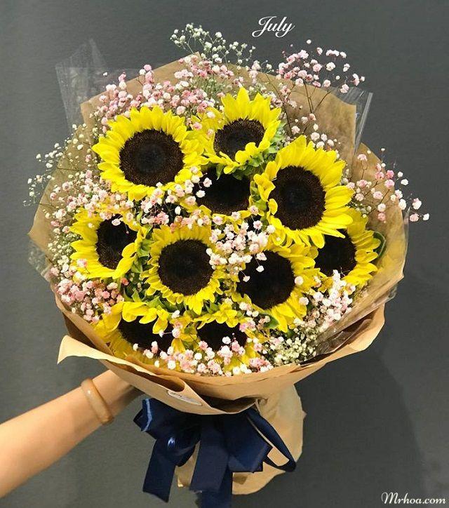 Hoa tặng người yêu hướng dương