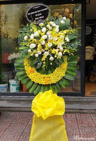 Hoa tang le thanh pho thai binh